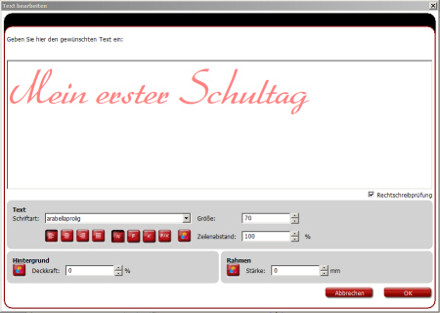 Fotobuch Schulanfang