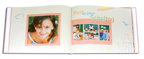 Fotobuch erster Schultag