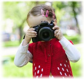 Mädchen Fotobuch