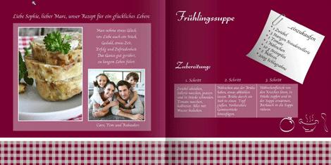 Kochbuch Und Rezeptbuch Vorlage Designs Layouts