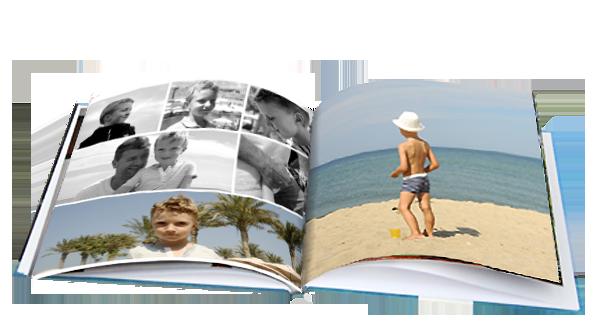 Fotobuch Bindungen und Größen