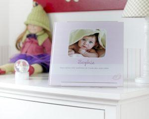 Cover baby-fotobuch