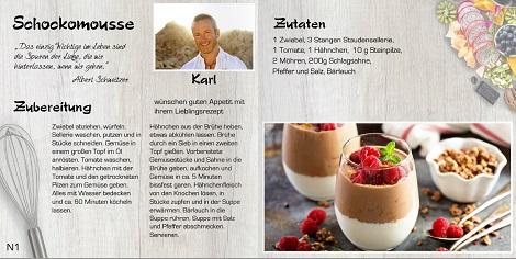 Kochbuch Selbst Gestalten Beliebte My Moments Software 10